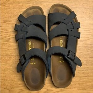 Navy Blue Birkenstock Sandals Size 42 (Women's 11)